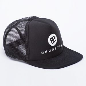 SNAPBACK TRUCKER DRUMATCH BLACK