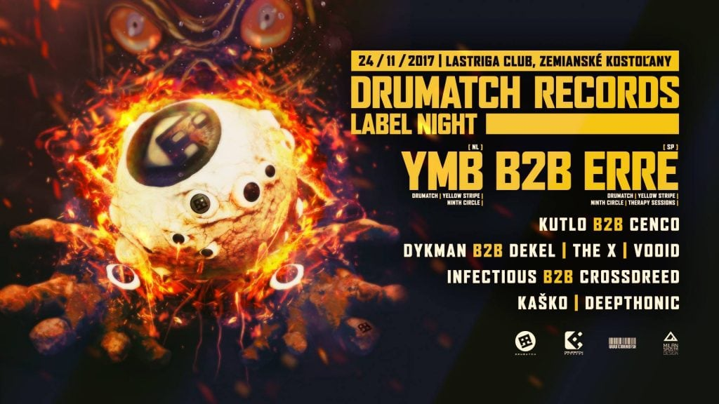 Drumatch Records Label Night with YMB & eRRe