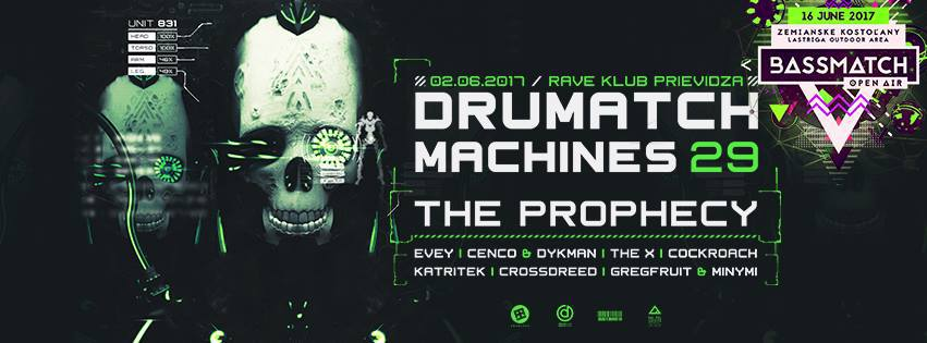 Drumatch Machines 29 / Bassmatch Open Air - Official Warm Up /