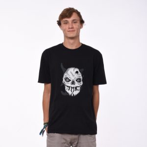 T-SHIRT THE X BLACK