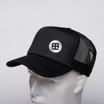 TRUCKER DRUMATCH BLACK & SILVER