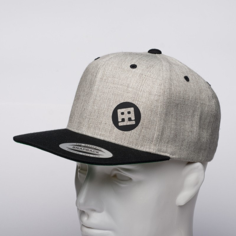 SNAPBACK DRUMATCH GREY & BLACK
