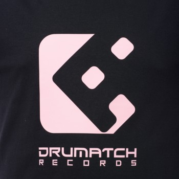 TRIČKO DRUMATCH RECORDS BLACK & PINK